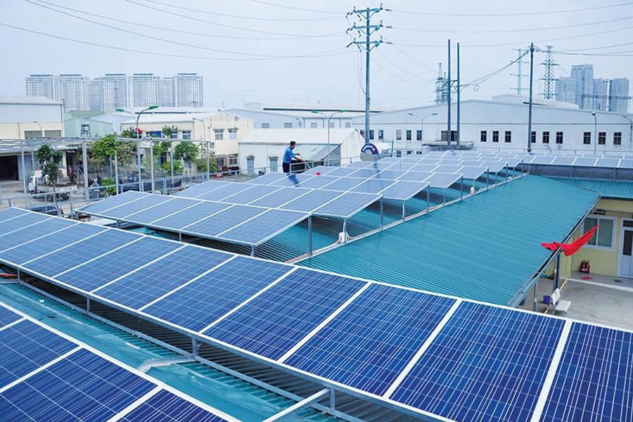 Tìm hiểu điện mặt trời cho lắp đặt cho nhà xưởng